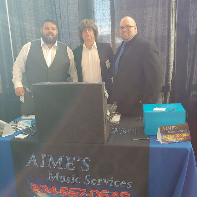Aime's Music Services team